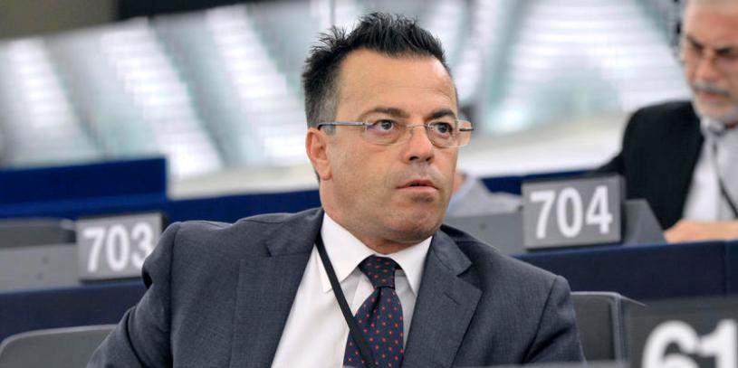 02/07/2014 Strasburgo, secondo giorno della prima seduta plenaria del Parlamento Europeo, nella foto  Gianluca Bonanno